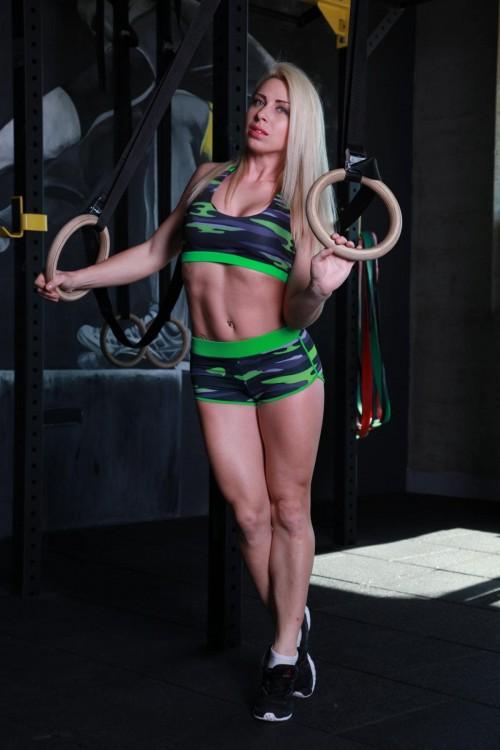 Спортивные женские шорты H11