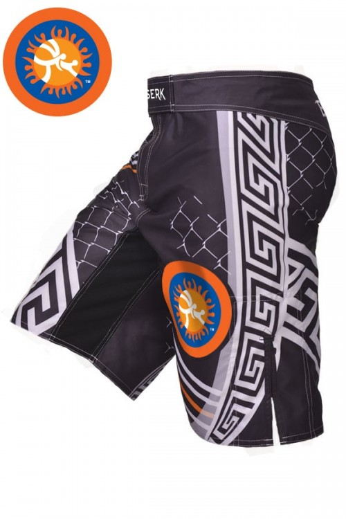 Шорты Pankration Berserk 3D Approved UWW black
