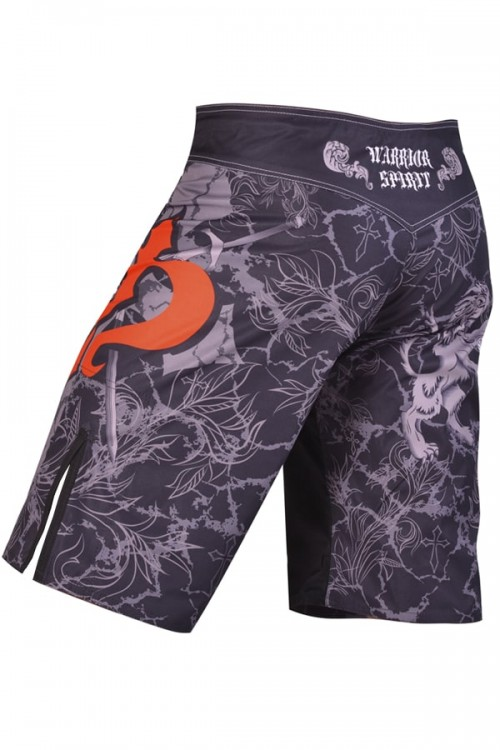 Шорты MMA Berserk Warrior Spirit black