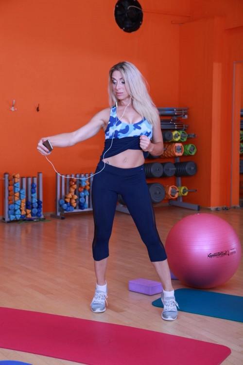 Женские спортивные бриджи L13-C7