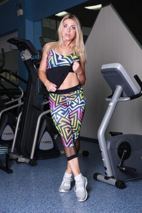 Бриджи для фитнеса L11