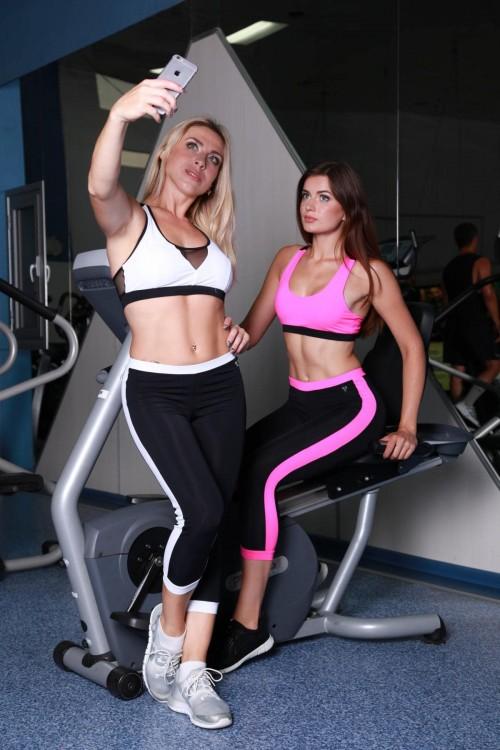 Женские спортивные бриджи L12-C11