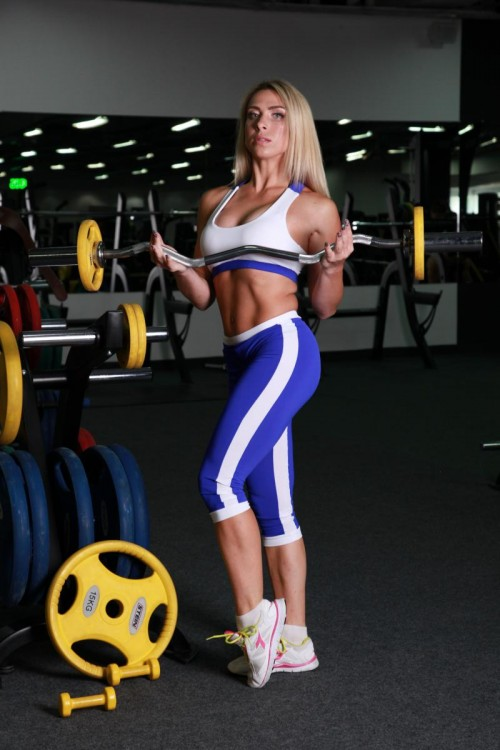 Женские спортивные бриджи L12-C11/C12