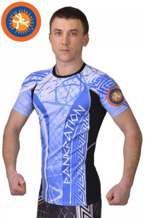 Рашгард Pankration BERSERK 3D APPROVED UWW blue