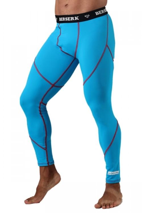 Компрессионные штаны BERSERK DYNAMIC light blue