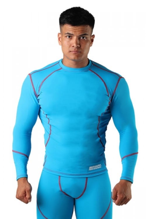 Компрессионная футболка BERSERK DYNAMIC light blue