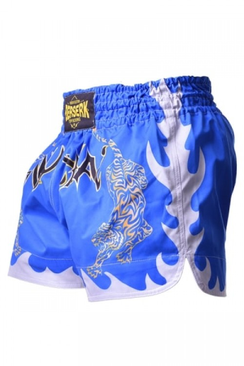 Шорты Berserk Muay Thai Fighter blue