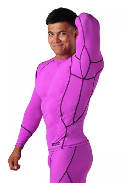 Компрессионная футболка BERSERK DYNAMIC violet