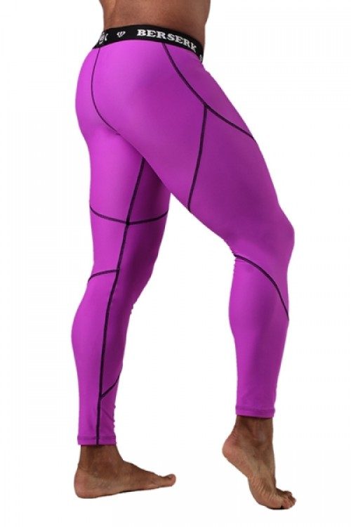 Компрессионные штаны BERSERK DYNAMIC violet