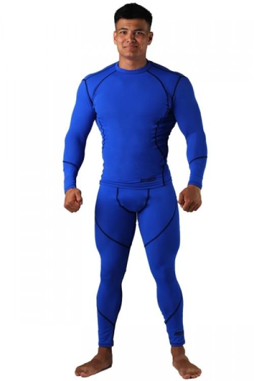 Компрессионная футболка BERSERK DYNAMIC blue
