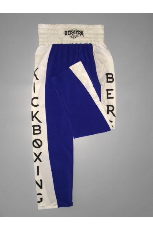 Штаны Berserk kickboxing superfigter blue