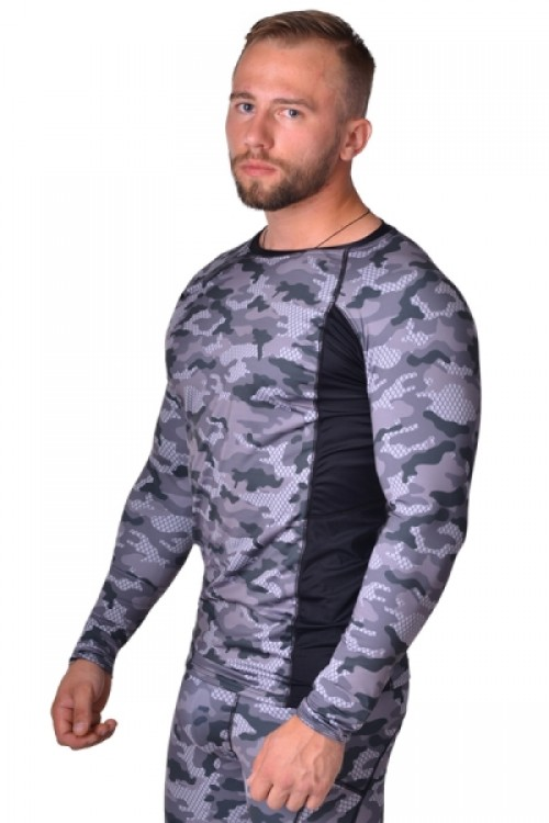 Рашгард BERSERK TACTICAL FORCE camo grey